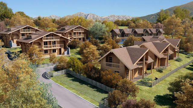 3dsMax高精度木製房屋3D模型下載