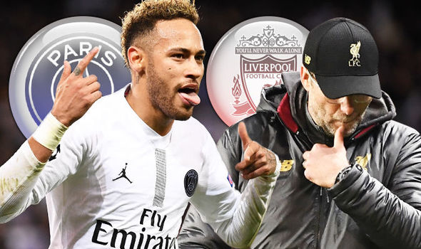 Liverpool's Jurgen Klopp Points Accusing Fingers At Neymar Jr And Referee