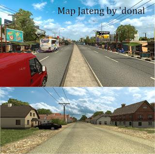 Download Game Unduh Mod ETS2 Map (Peta) Indonesia Lengkap Terbaru Dan Terpopuler