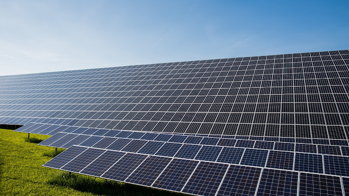 Wallpaper: Solar Panels