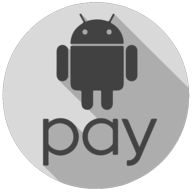 android pay whiteout icon