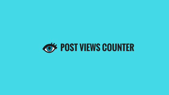 Add Post Views Counter in Blogger Posts