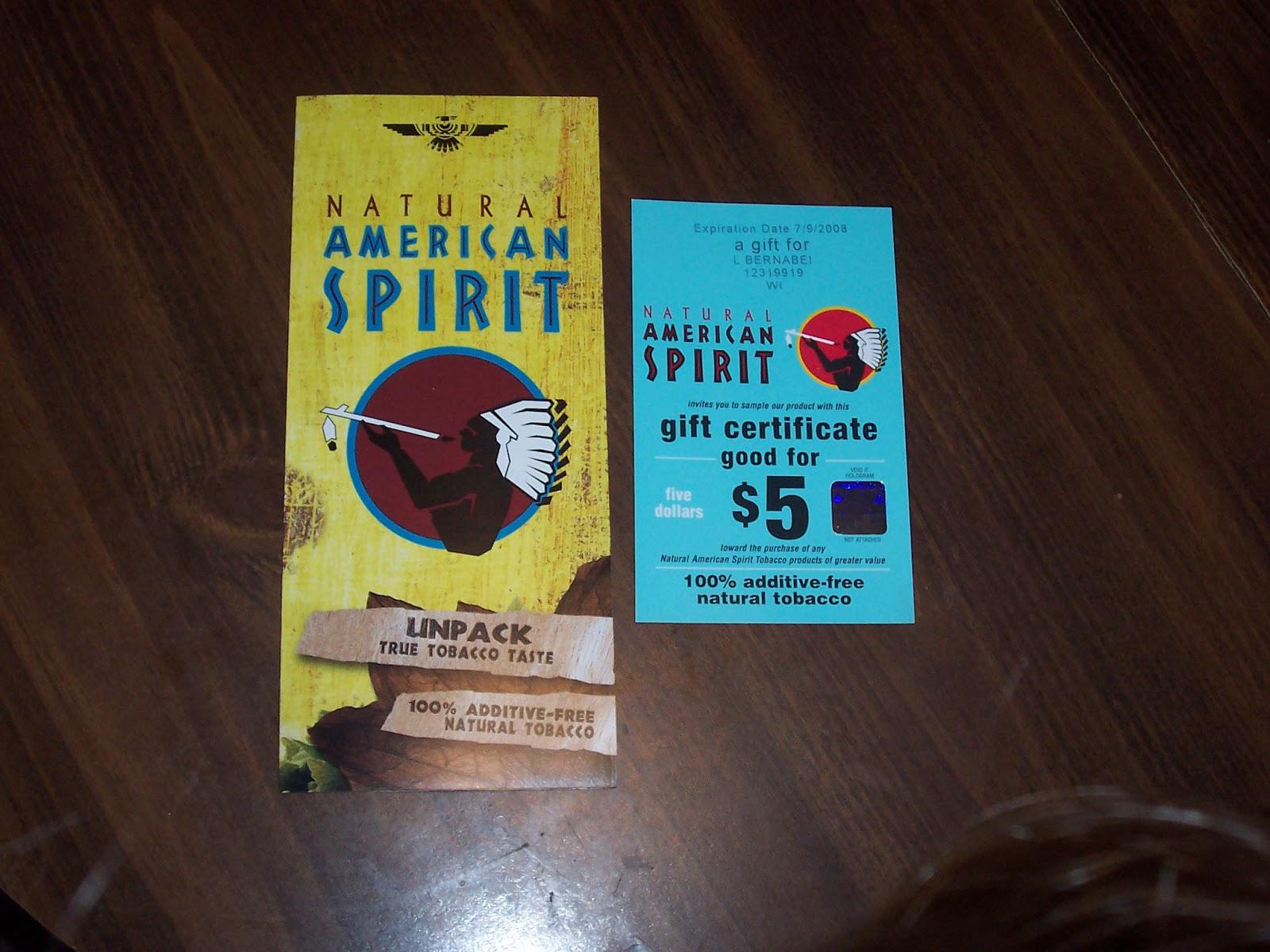 image regarding American Spirits Coupons Printable called Printable Cigarette Discount codes 2019: Free of charge American Spirit