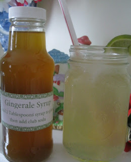 Gingerale Syrup Recipe