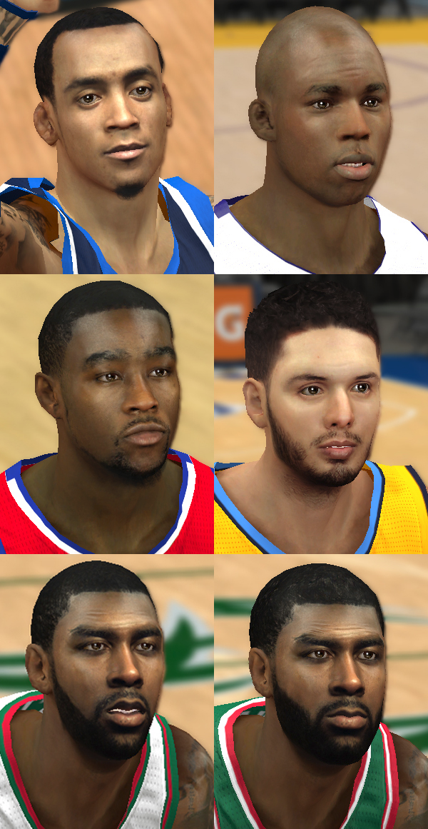NBA 2K14 Mod Face Update Pack #8
