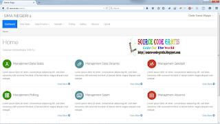 Free Download PHP Source Code Sistem Informasi Sekolah Menggunakan Laravel 5 dan AngularJs