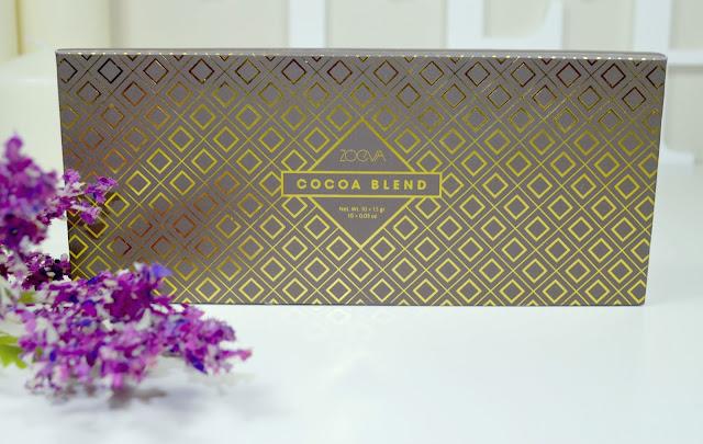 Cocoa Blend - Eyeshadow palette - Zoeva - matte - metallic - pearl - satin - review - swatches