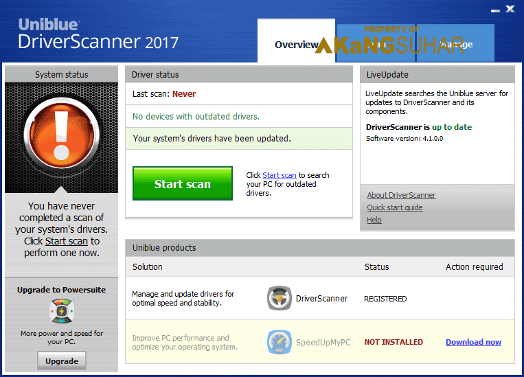 Download Uniblue DriverScanner 2017 4.1.1.2 Full Version Terbaru