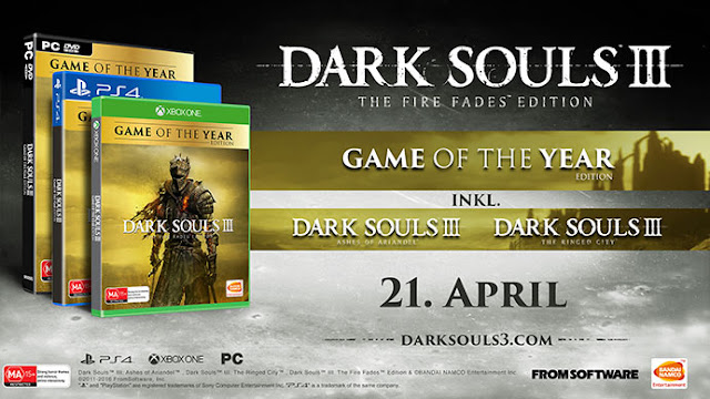 Bandai Namco comparte el tráiler de Dark Souls 3: The Fire Fades Edition