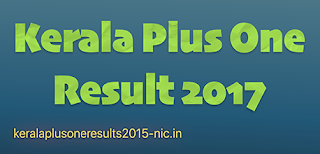kerala plus one results 2017