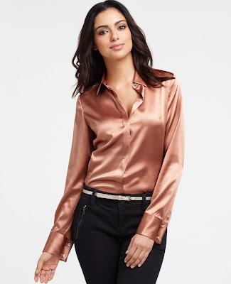 Satin Blouses Galleries