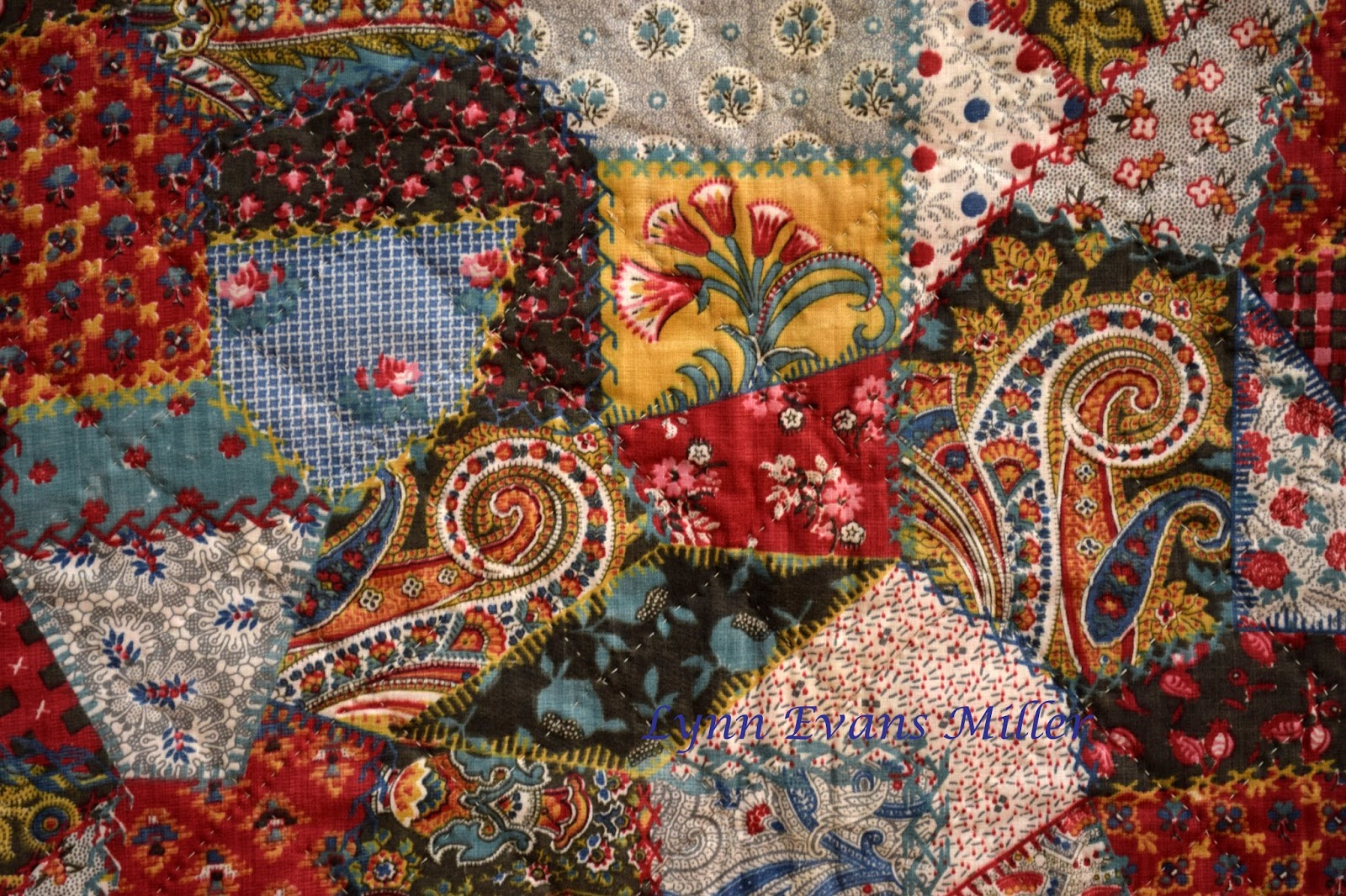 Quilts Vintage And Antique Antique Cheater Fabric