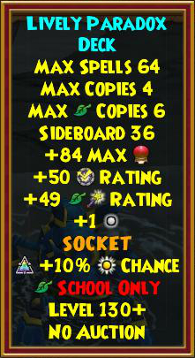 Wizard101 Best Gear - Omen Skeleton Key Boss Drops