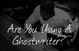 does credit matter when using a ghostwriter