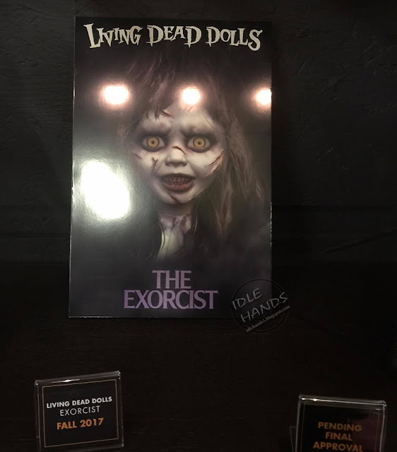 Toy Fair 2017: Mezco's Horror Toys Living Dead Dolls Series 33