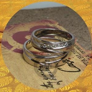 cincin kawin perak p5704