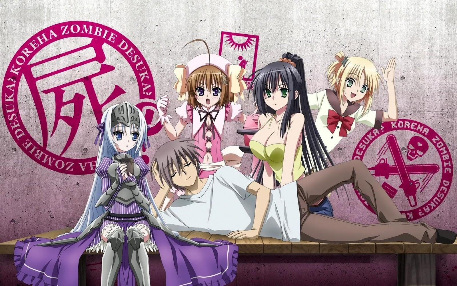 Download Kore Wa Zombie Desuka BD OVA Subtitle IndonesiaTamat