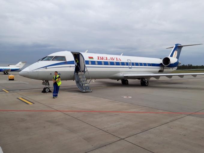 Belavia Airlines kokemuksia / Belarusian lentokone