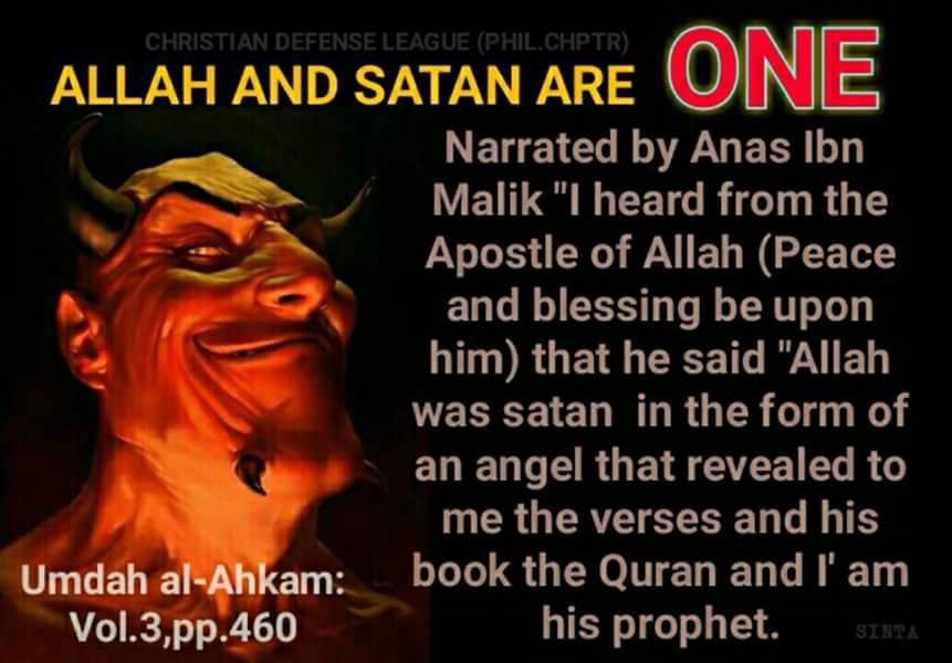 MUHAMMAD INSPIRED BY SATAN