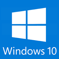 Windows 10 Blue and White Logo