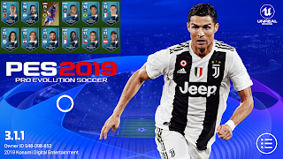 PES 2019 Mobile v3.1.1 UCL Graphics Patch Android Best Graphics