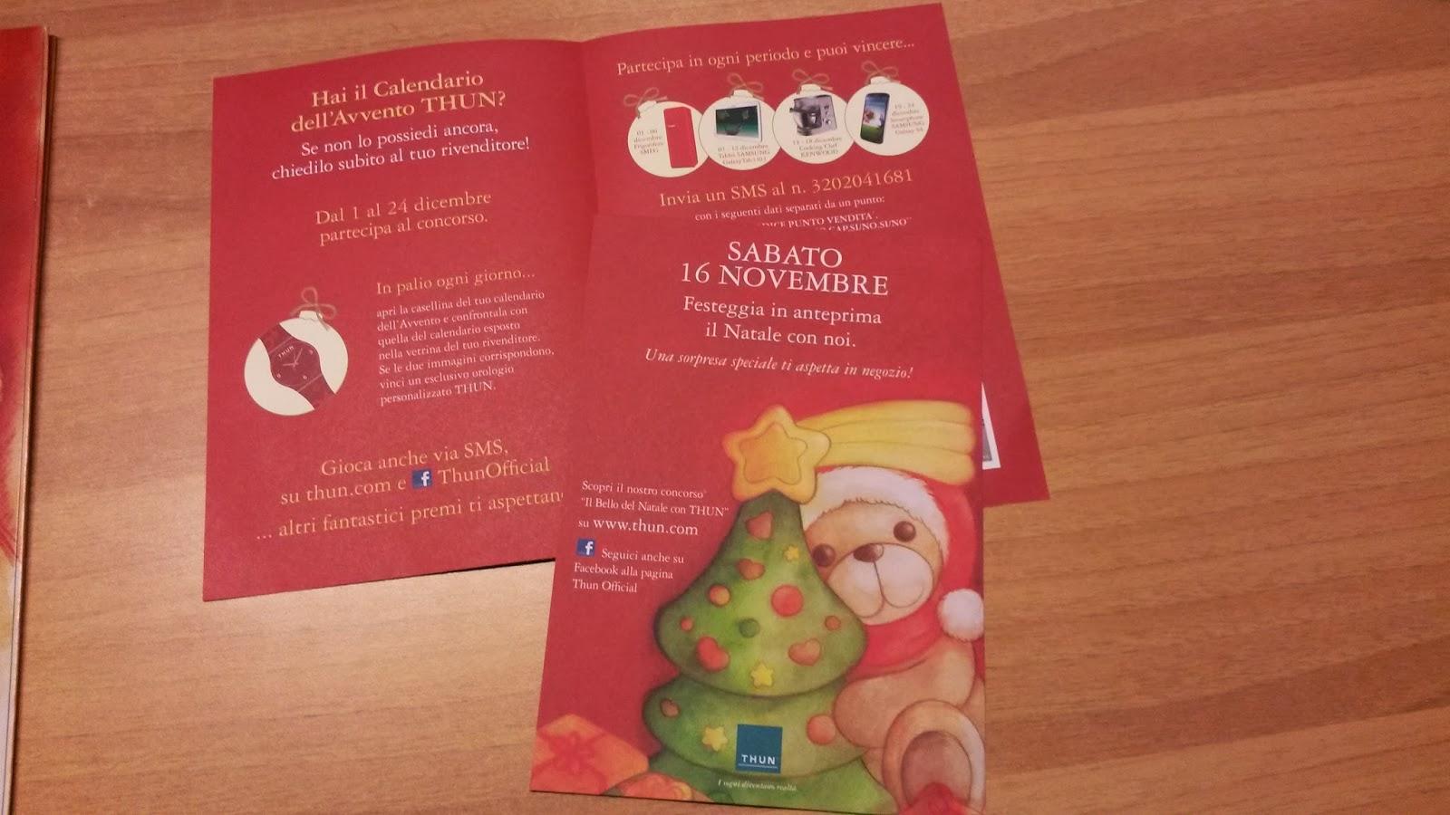 Calendario Avvento Thun.Idee Per Te Calendario Dell Avvento Thun 2013