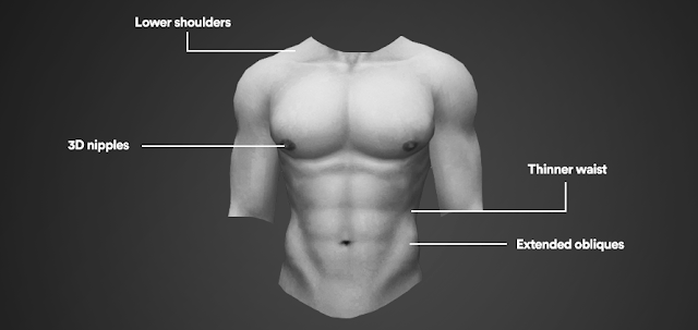Sims 4 CCs - The Best: Skin for Males by 1000FormsOfFear