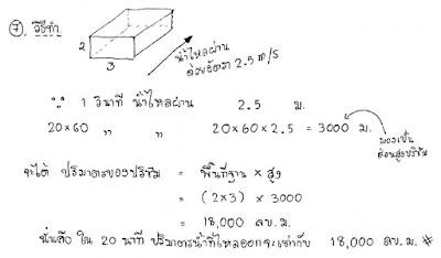 เฉลยคณิตศาสตร์ โอเน็ต ม.3 ปี 2559 ข้อ 7