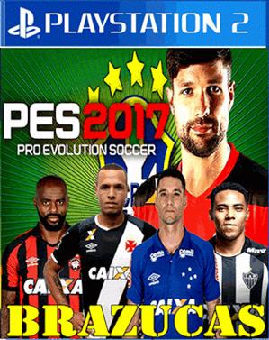PES BRAZUKAS 2017 Libertadores e Champions League