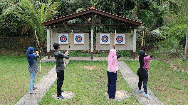 Archery at Sijori Resort & Spa