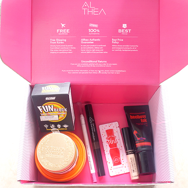 unboxing althea Indonesia