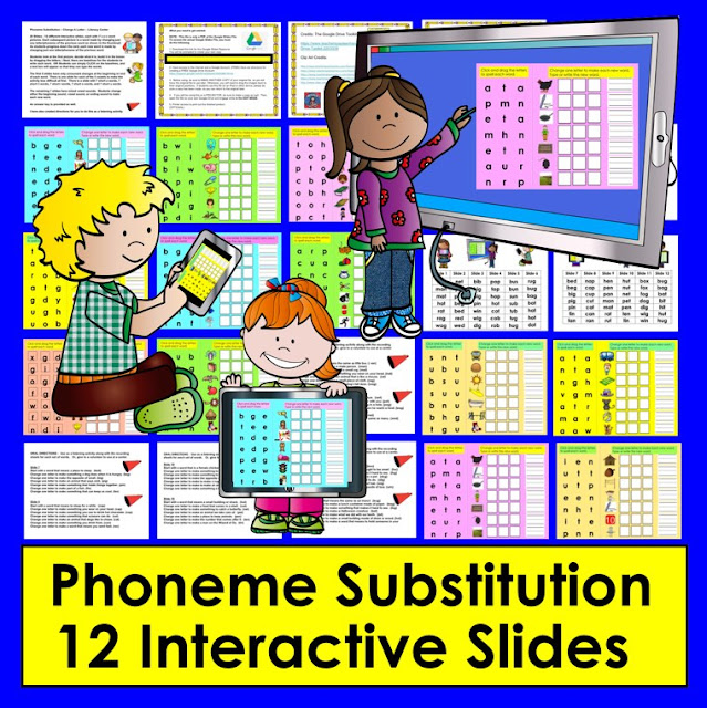 https://www.teacherspayteachers.com/Product/Phoneme-Substitution-Google-Slides-Kindergarten-and-First-Grade-TptDigital-2909156