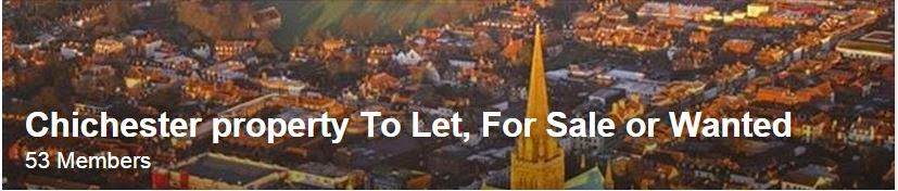 chichester property to let sale wanted facebook group
