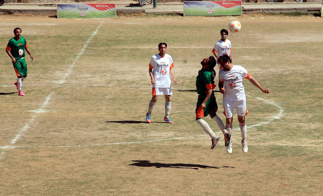 Noshkal Baloch FC and Aqua FC Quetta qualified for the final of Ufone Balochistan Football Cup