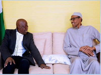 President Buhari, Tinubu Meet In London