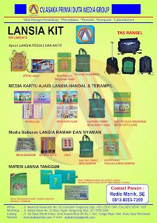 Produk LANSIA KIT DAK BKKBN 2016 - LANSIA KIT JUKNIS 2016
