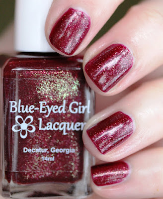Blue-Eyed Girl Lacquer Flaming Fields