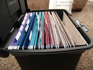 Preventing the Paper Pileup - www.lysandrajames.com