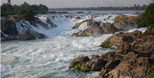 Khone Phapheng Falls Sebagai Air Terjun terbesar di Asia Tenggara