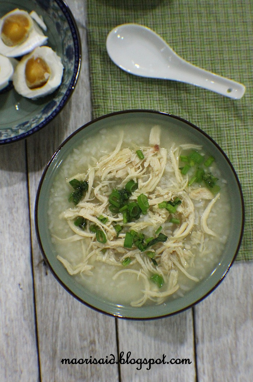Mori's Kitchen: Bubur Nasi Sup Ayam