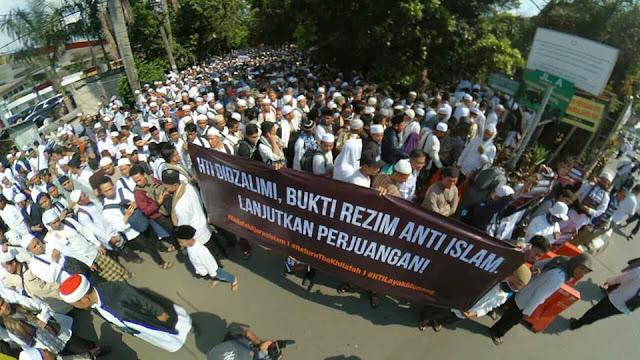 Gugatan Ditolak, Jubir HTI: Pemerintah Zalim