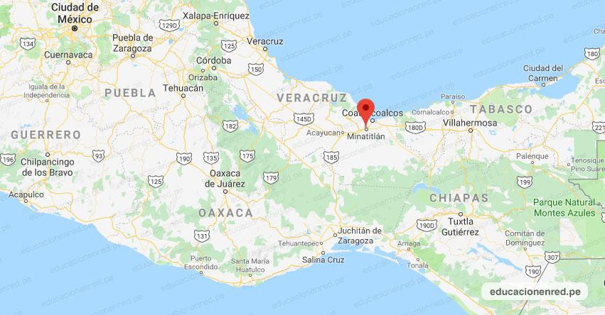 Temblor en México de Magnitud 4.0 (Hoy Lunes 01 Junio 2020) Sismo - Epicentro - Minatitlán - Veracruz de Ignacio de la Llave - VER. - SSN - www.ssn.unam.mx