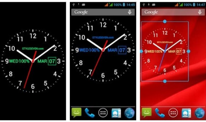 Widget Jam Analog - Analog Clock Live Wallpaper-7