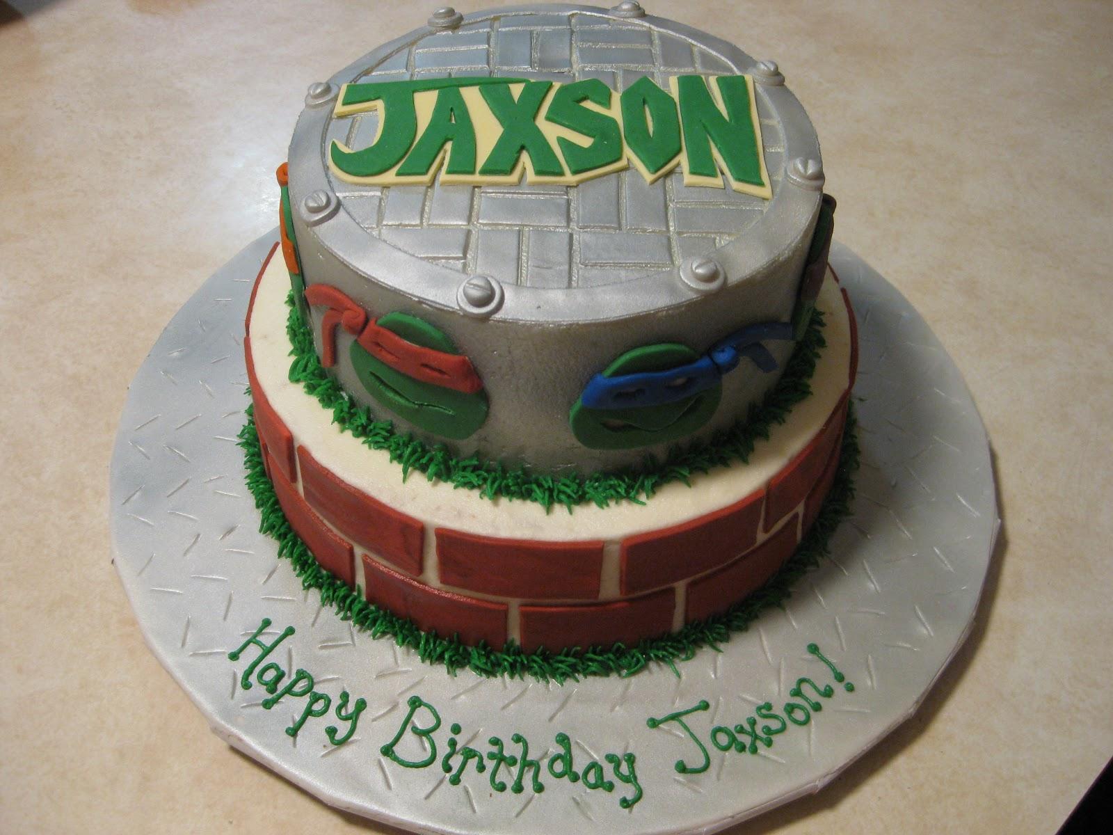 Cakes By The Sugar Cains Teenage Mutant Ninja Turtles