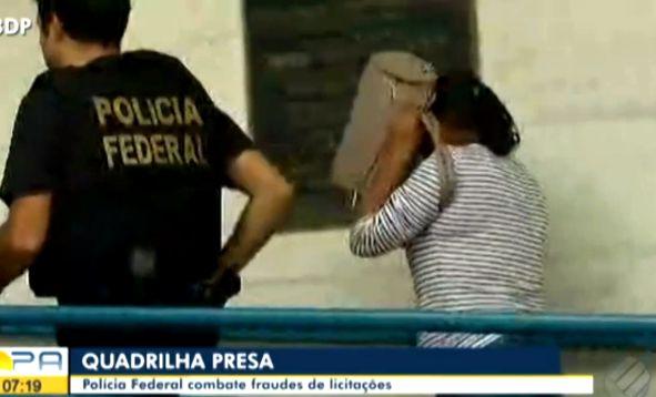 POLÍCIA FEDERAL DESARTICULA QUADRILHA QUE TERIA DESVIADO R$ 40 MILHÕES DA SAÚDE E EDUCAÇÃO NO PARÁ