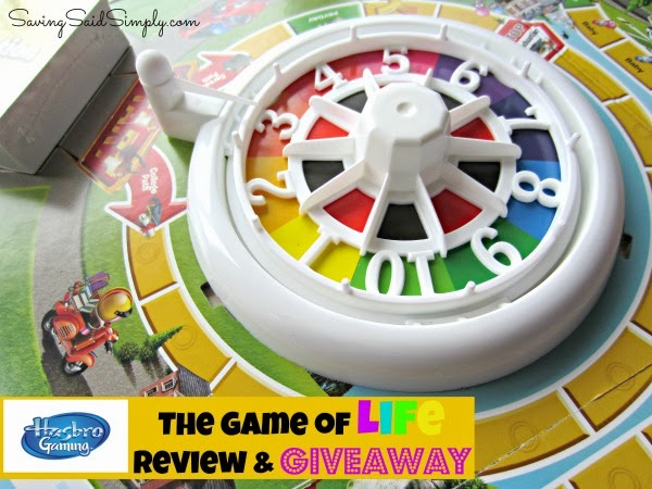 game of life sweepstakes hasbro game of life review giveaway saving said simply 7471