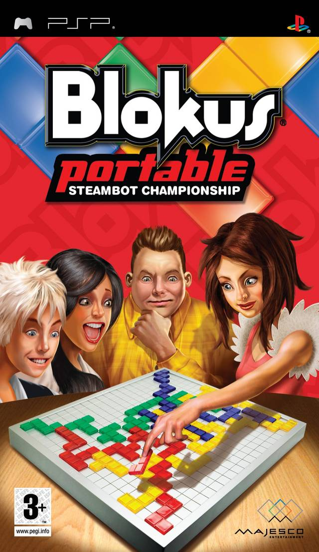 Blokus Portable - Steambot Championship - PSP - ISO Download