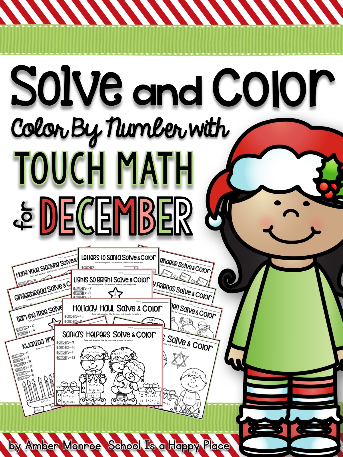 School Is A Happy Place Number Of The Day For The Year Free Math Printables