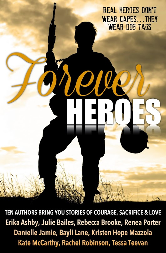 Forever Heroes Cover Reveal