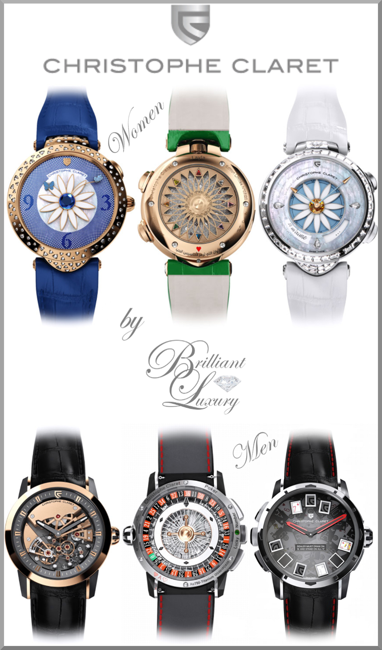 Brilliant Luxury ♦ Christophe Claret Watch Collection